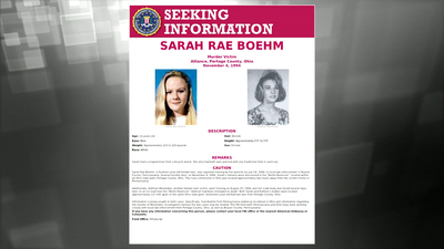 Wanted by the FBI: Seeking Information in the Murder of Sarah Rae Boehm