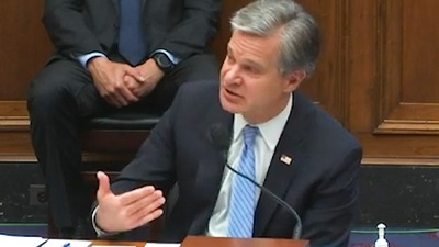 Director Wray Voices Support for Police During House Testimony