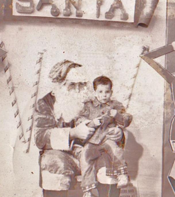 Photograph taken December 25, 1961