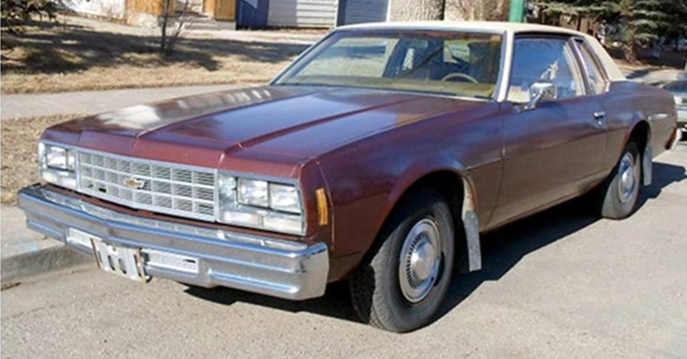 Example of 1977 Chevy Sedan