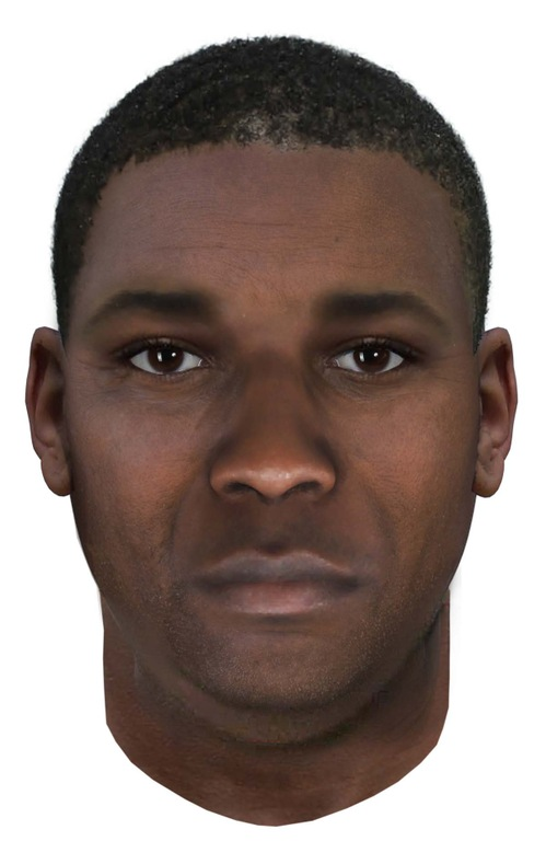Age-Progressed Composite Sketch Courtesy of Montgomery County (Maryland) Police Department and Washington D.C. Metropolitan Police Department / Parabon Nano Labs
