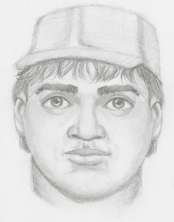 Composite sketch of suspect 2