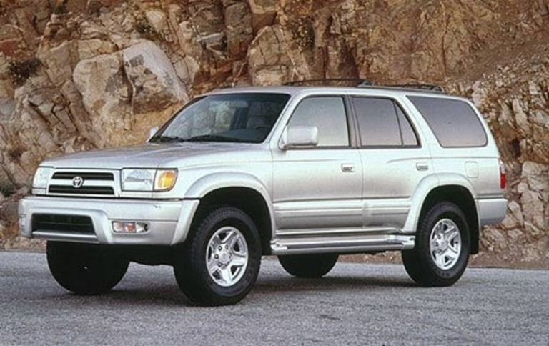 Example of a 1999 Toyota 4-Runner