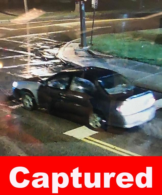 Suspect's vehicle