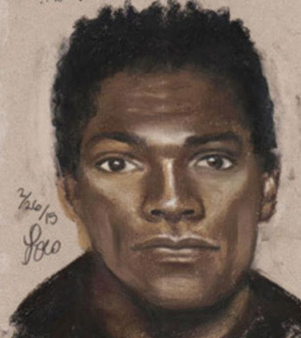 Sketch of Unknown Suspect