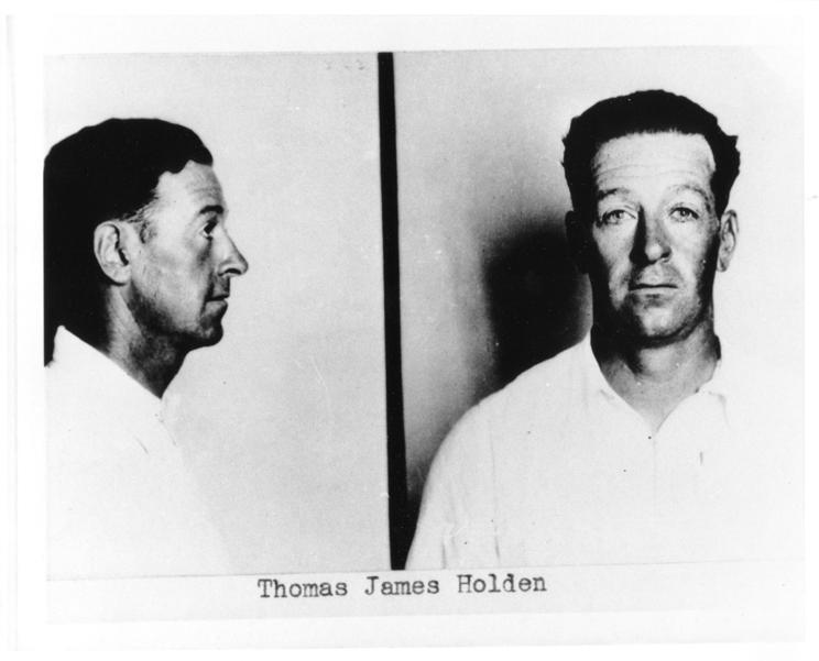1. Thomas James Holden
