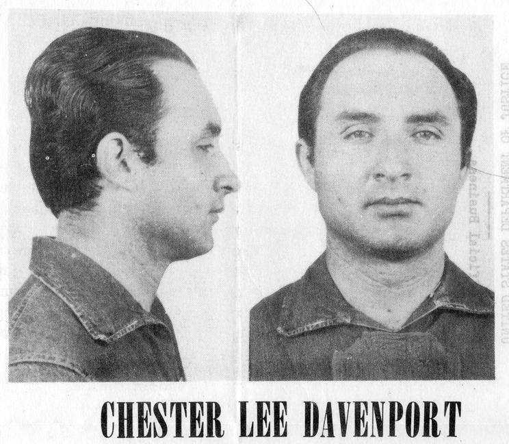 65. Chester Lee Davenport