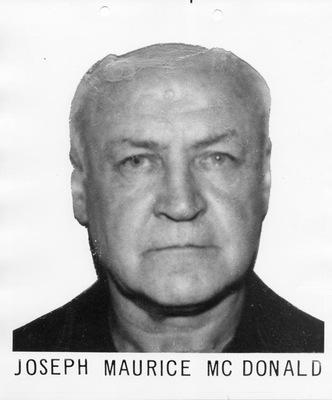 339. Joseph Maurice McDonald