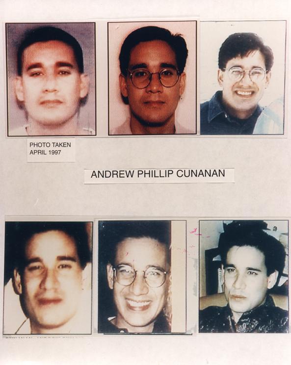 449. Andrew Phillip Cunanan
