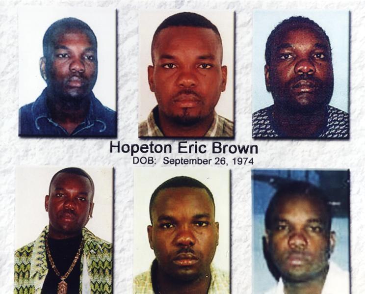 462. Hopeton Eric Brown