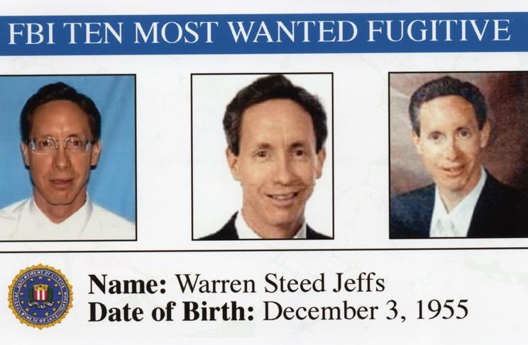 482. Warren Steed Jeffs