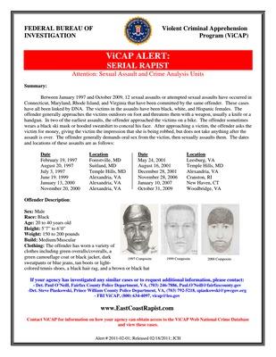 East Coast Rapist suspect