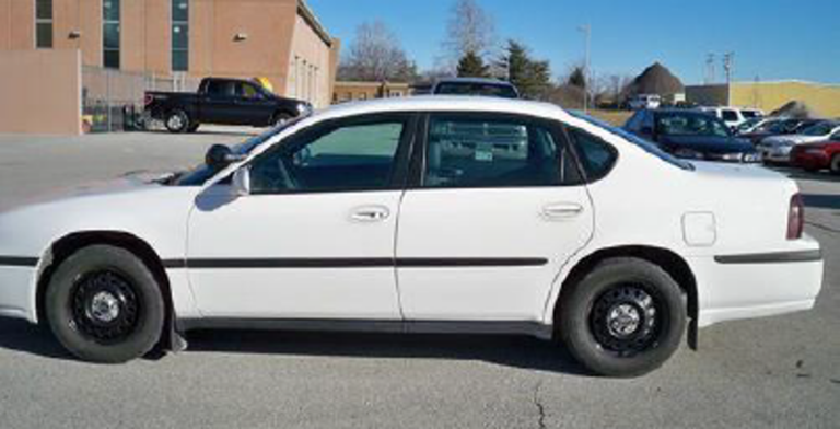 """Stock photo of a 2013 Chevrolet Impala with """"police package"""""""